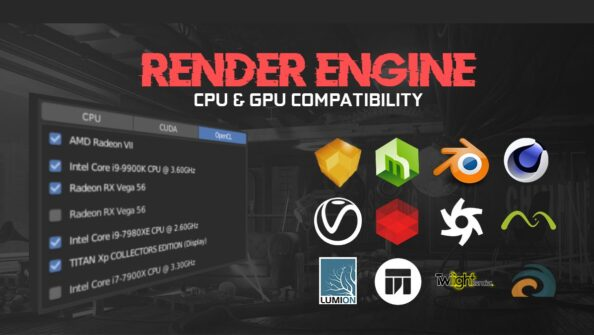 Render Engine Hardware Compatibility – CPU / GPU / Hybrid