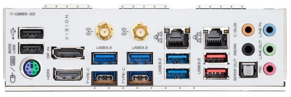 Gigabyte B550 Vision D IO