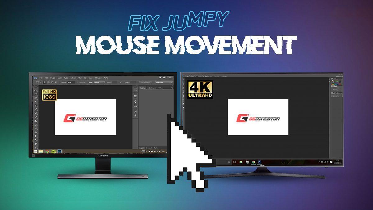 Fix Jumpy Mouse Movement across multiple Monitors (Free tool)