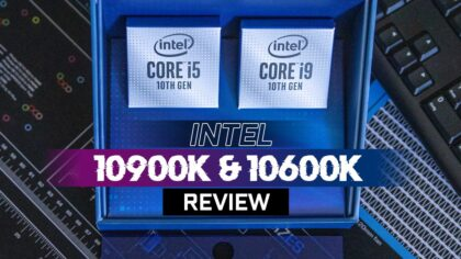 Core i9 10900K and Core i5 10600K Review for CG-Workloads: 3D Viewports Still Love Intel