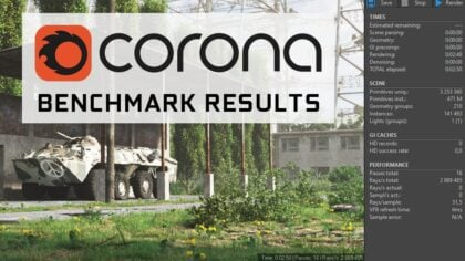 Corona Renderer Benchmark Results [Updated]