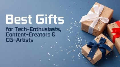 Our Favorite Gifts for Animators & Digital Artists