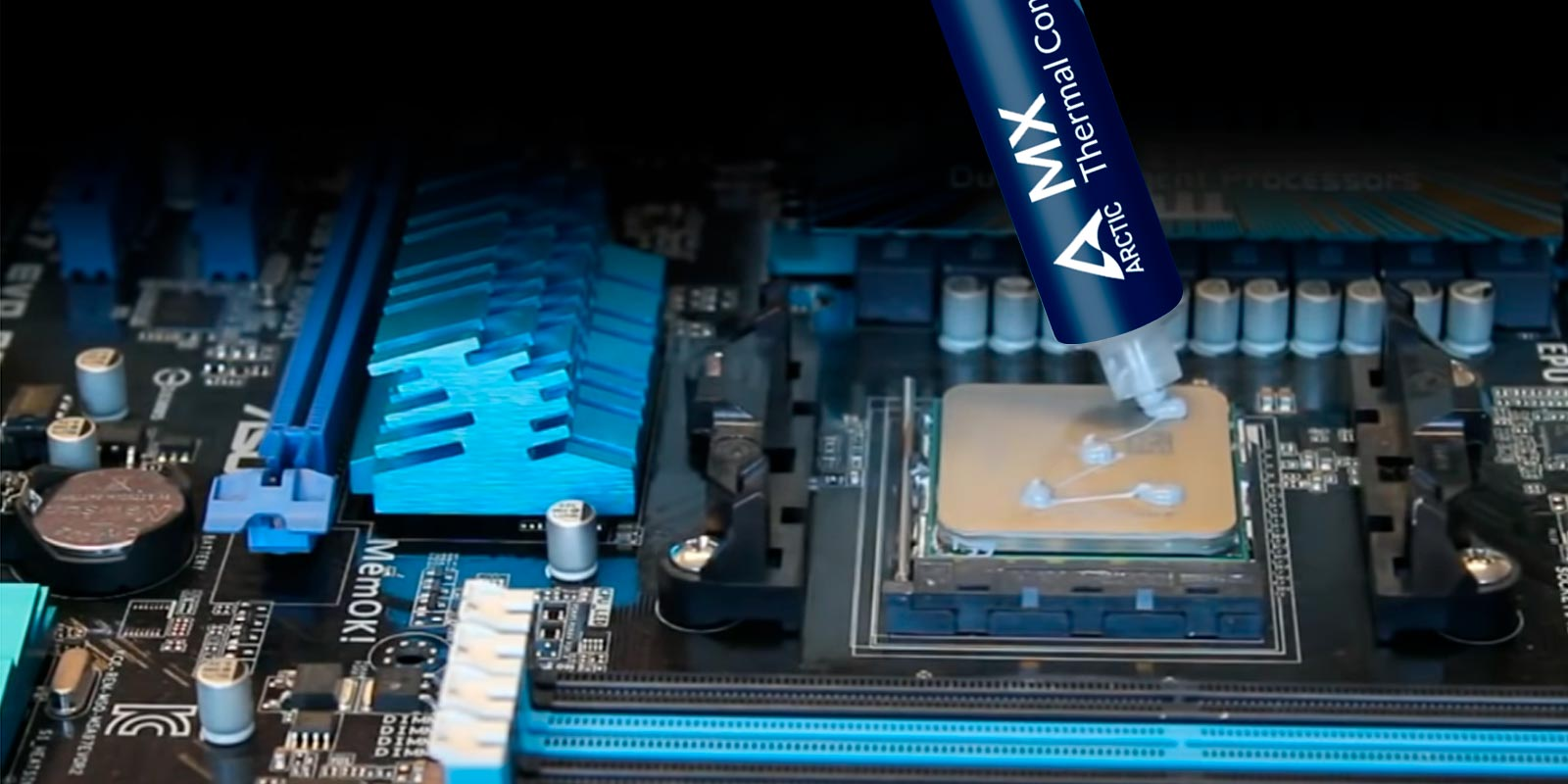 Best Thermal Paste for your needs - Thermal Paste Application
