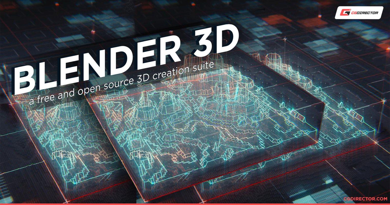 Blender 3D is a 3D Modeling Software to learn in Filmschool