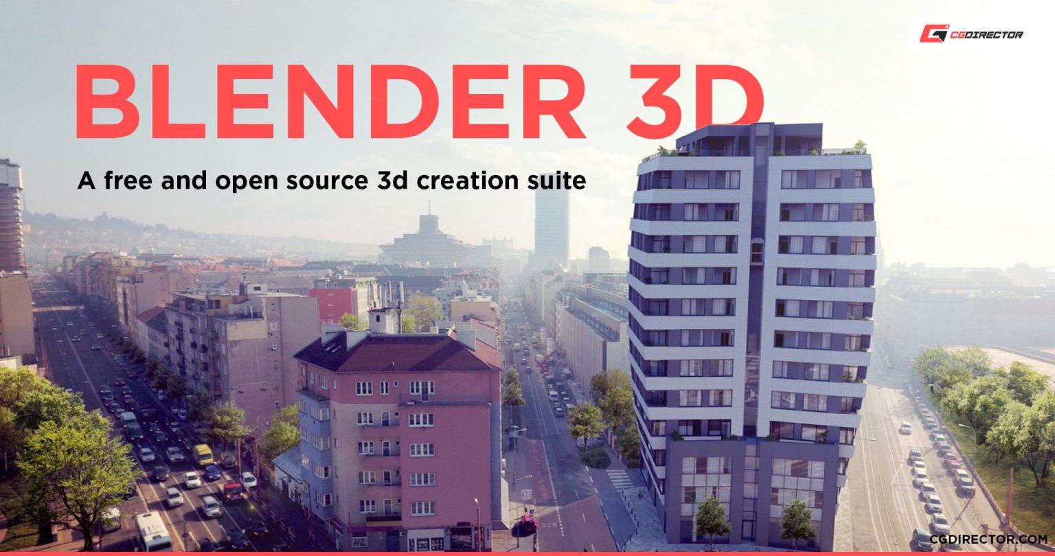 Blender Software for Animation Students