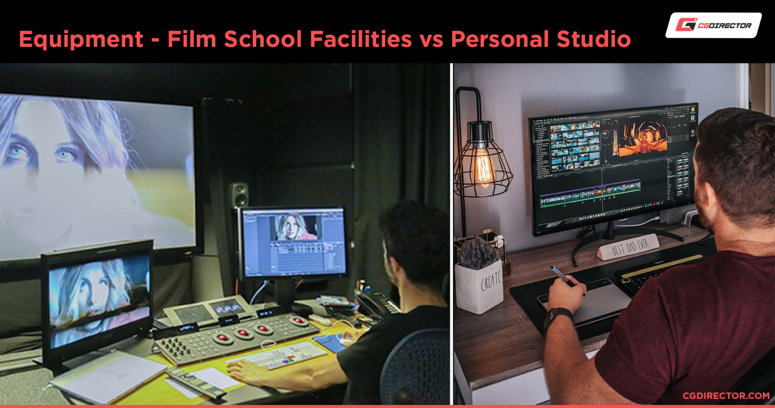 Equipment in Filmschool and when self-learning