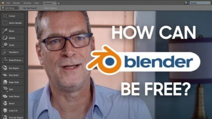 How can Blender be Free? A quick look behind the curtain.