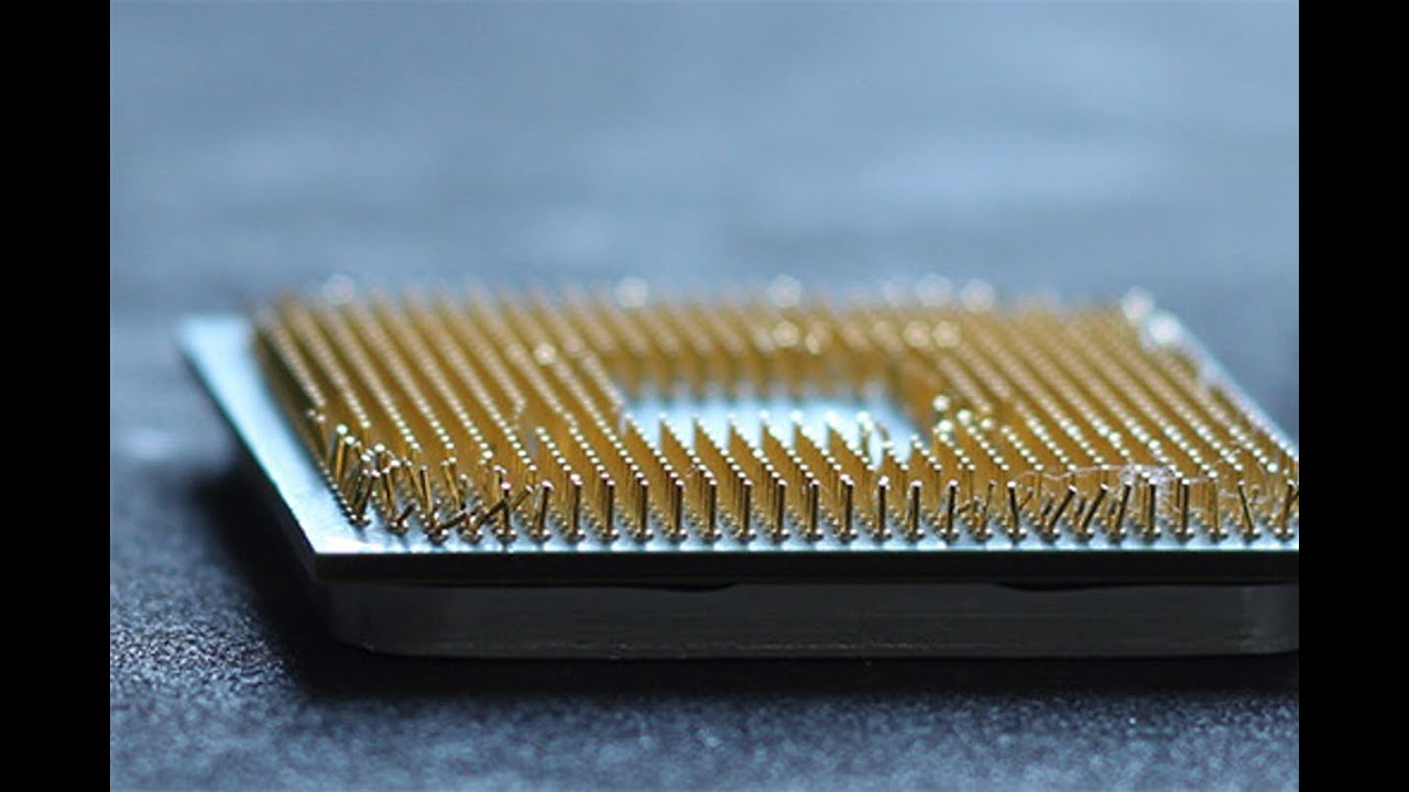 Bent CPU PINS: Ryzen 7 2700X - YouTube