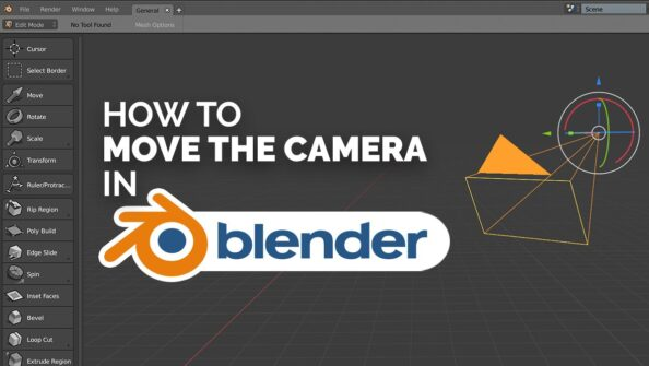 How to move the Camera in Blender (All possible ways)