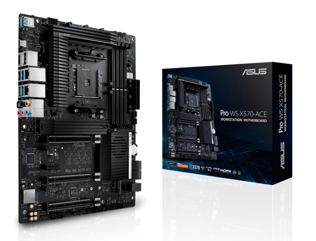 Asus Motherboard Brand among the best - Asus WS Ace x570