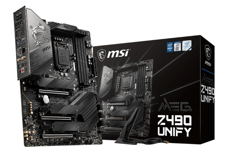 MSI z490 Unify Motherboard