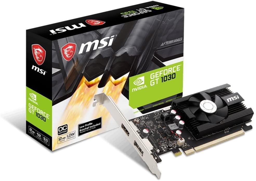 MSI GeForce GT 1030 LP OC