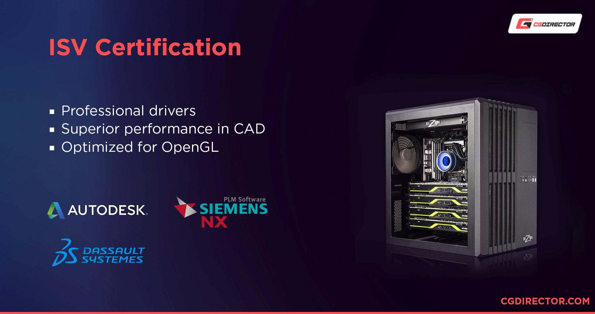 ISV Certification