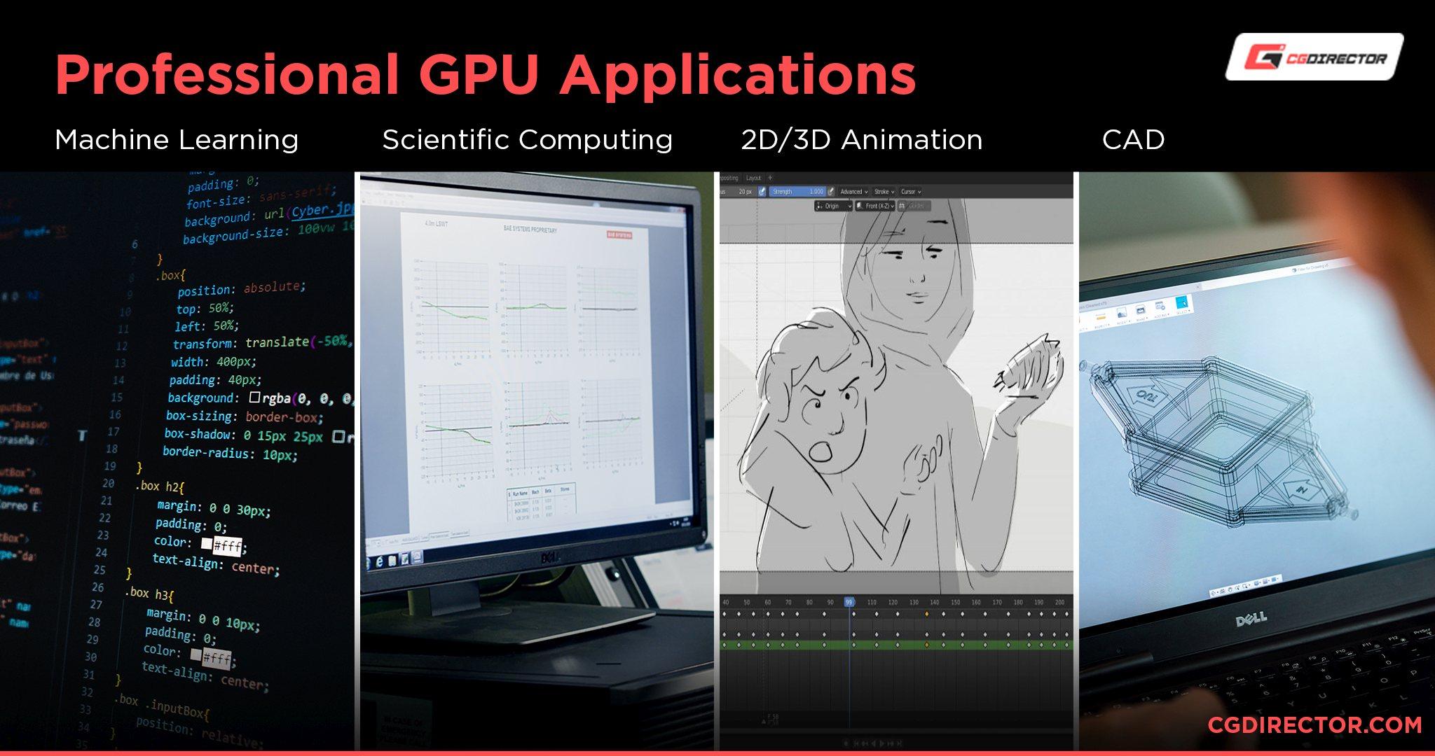Professional GPU Applications 2