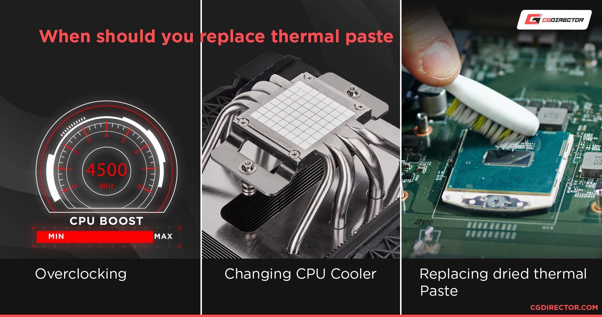When should you replace thermal paste