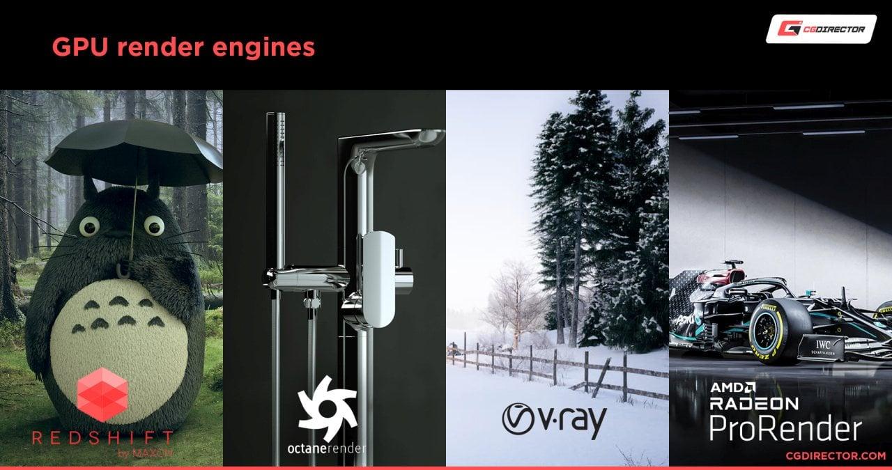 GPU render engines