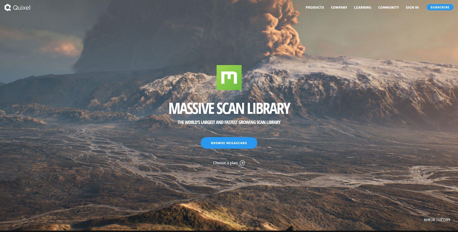 Texture Site Quixel Megascans