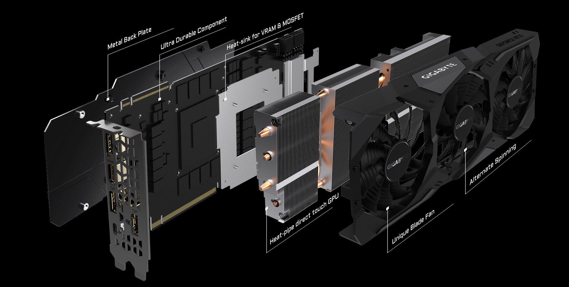 Look inside a heat pipe cooling the GPU