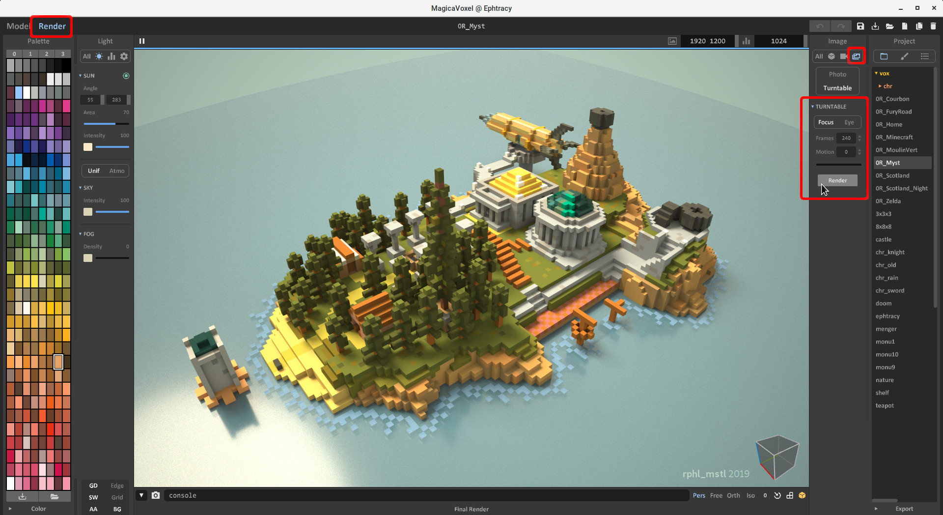 MagicaVoxel 3D Voxel Software