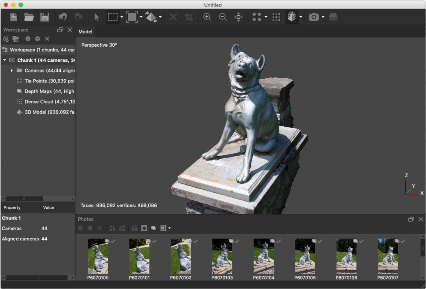 Agisoft Metashape 3D Photogrammetry Software