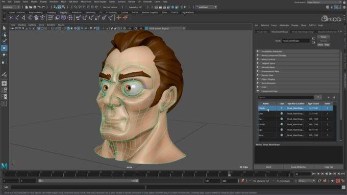 Autodesk Maya User Interface Overview