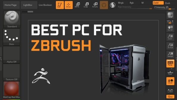 Building the Best Workstation PC for ZBrush [2021 Guide]