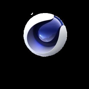 3D Modeling Software Cinema 4D Logo