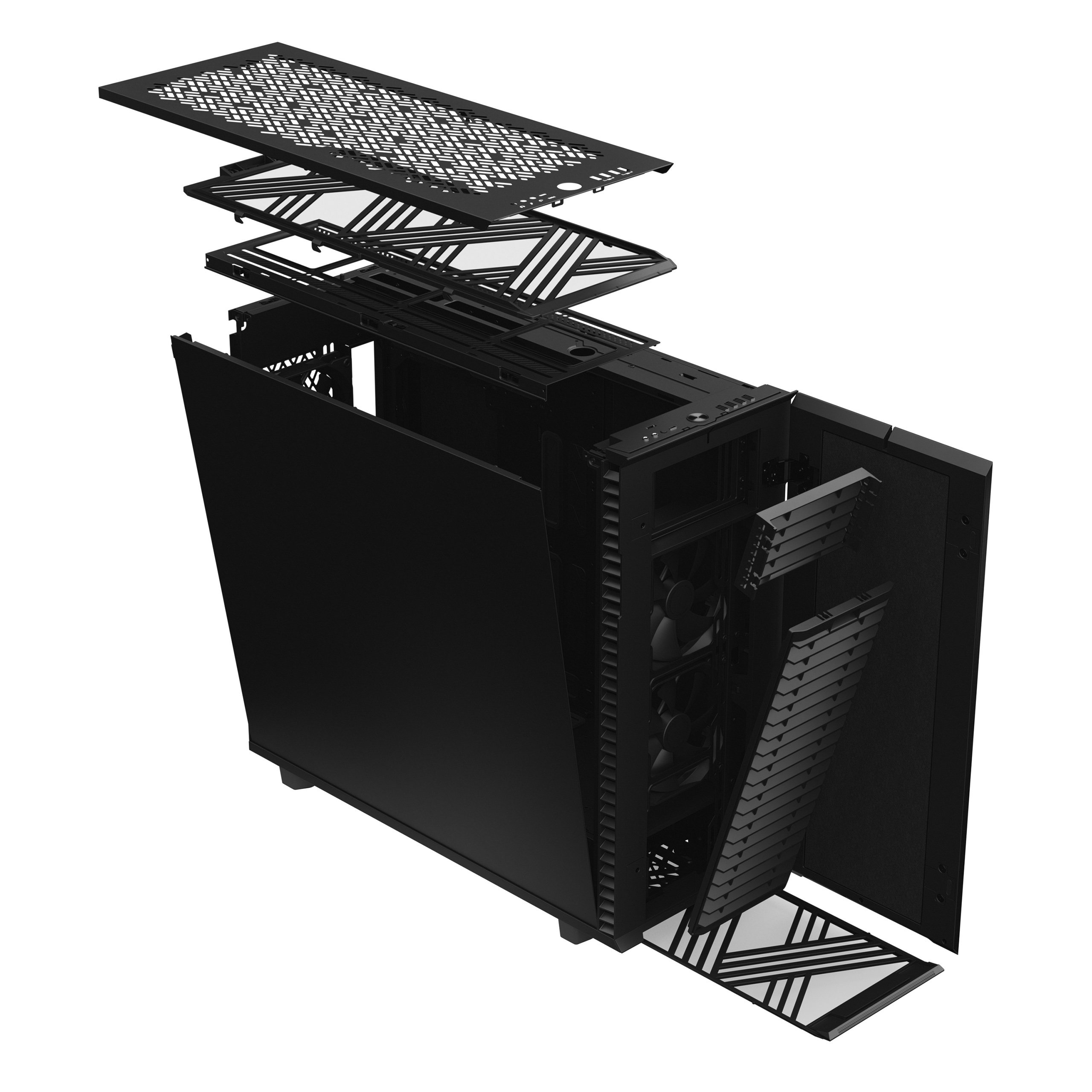Cooling the GPU through Vents in the Pc Case - Fractal Design Define 7 XL