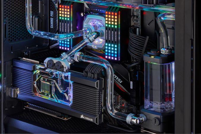 Corsair GPU Custom Water Cooling