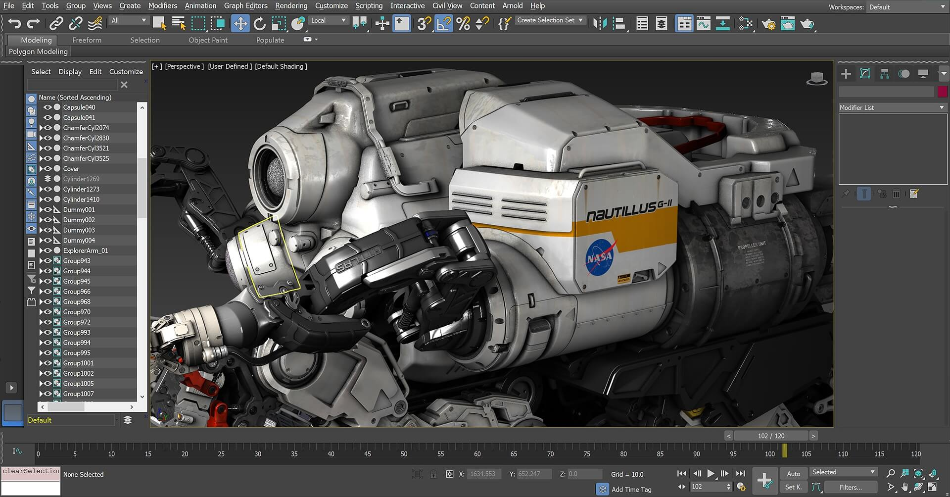 Autodesk 3DSMAX Viewport User Interface overview