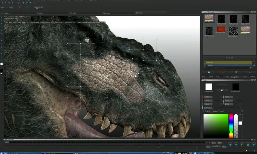 The Foundry Mari 3D Texturing Tool