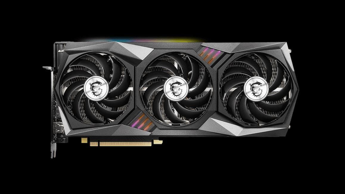 MSI Gaming X Trio GPU Fans keep Temperature low