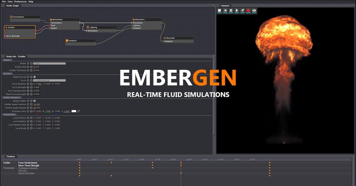 Embergen 3D Simulation Software
