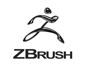3D Scultping Software for high-poly Models Zbrush Logo