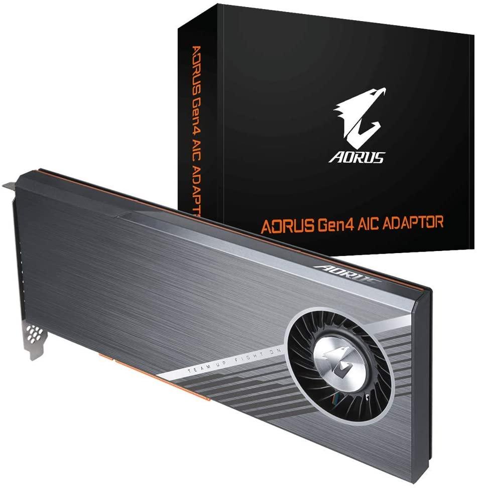 Gigabyte AORUS AIC M.2 PCIe NVME Adaptor