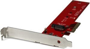 StarTech M2 PCIe SSD Adapter - x4 PCIe 3.0 NVMe