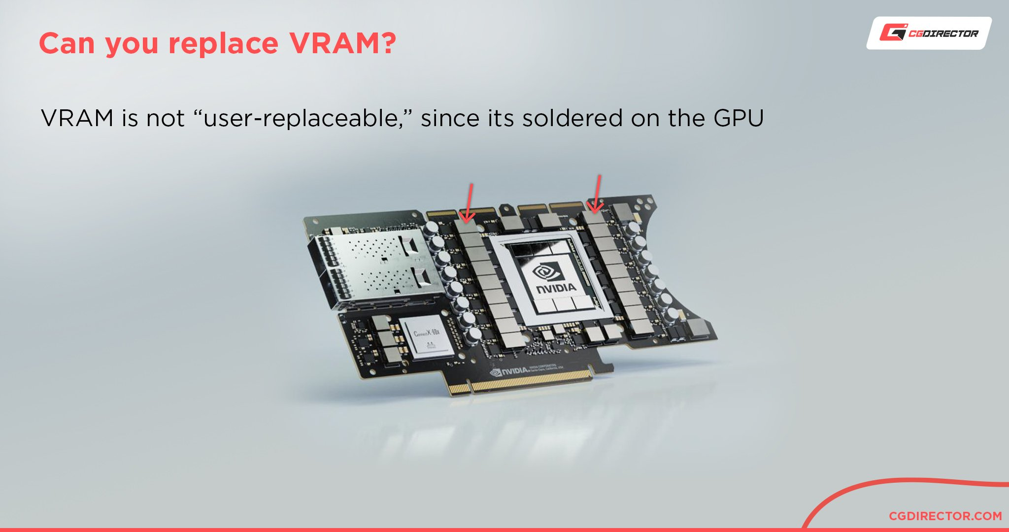 Can you replace VRAM