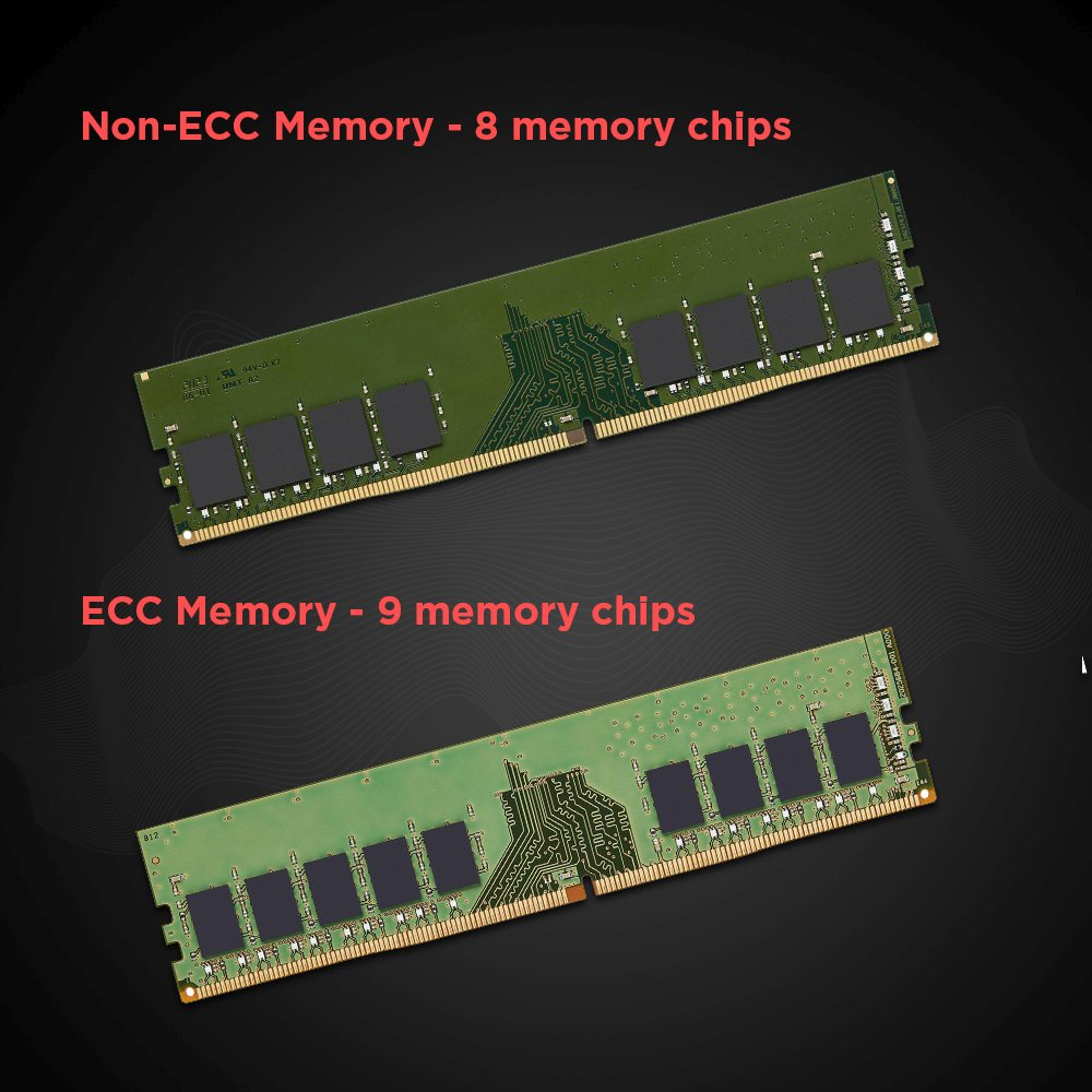 ECC and non ECC DIMMs
