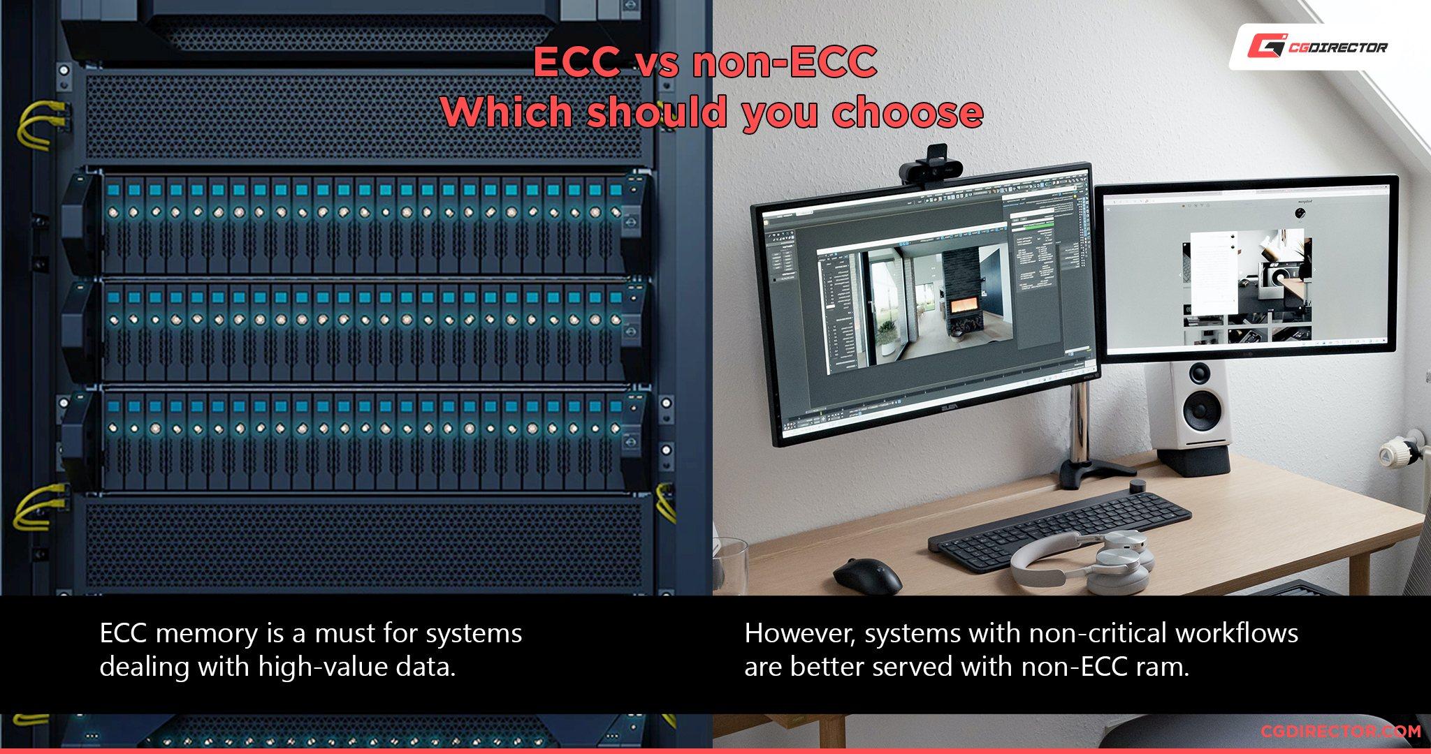 ECC vs non ECC - which to choose
