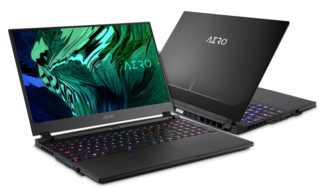 Gigabyte Aero Laptop - Laptop with Numpad for efficient 3D Modeling work