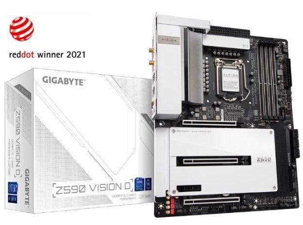 Gigabyte Z590 Vision D Motherboard hero