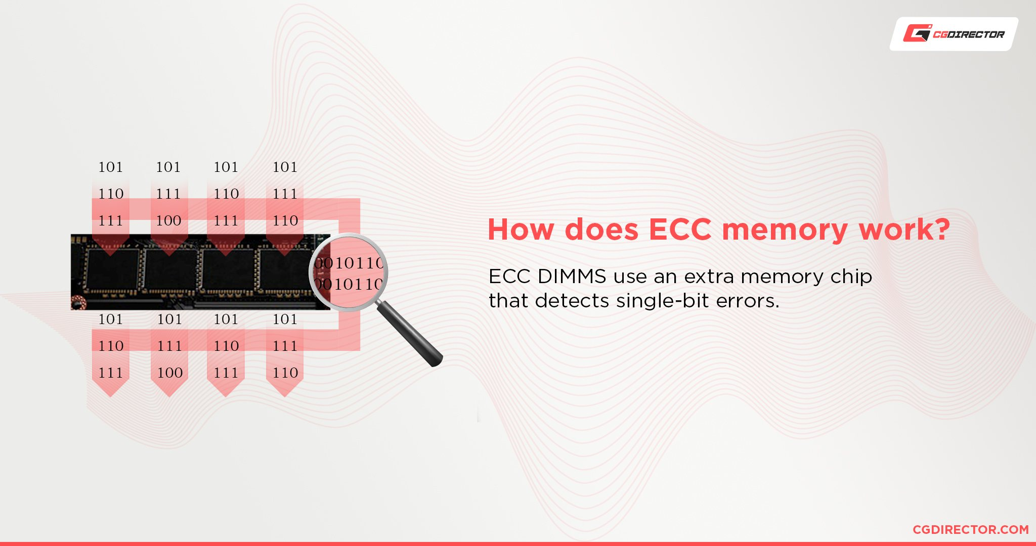 How does ECC memory work
