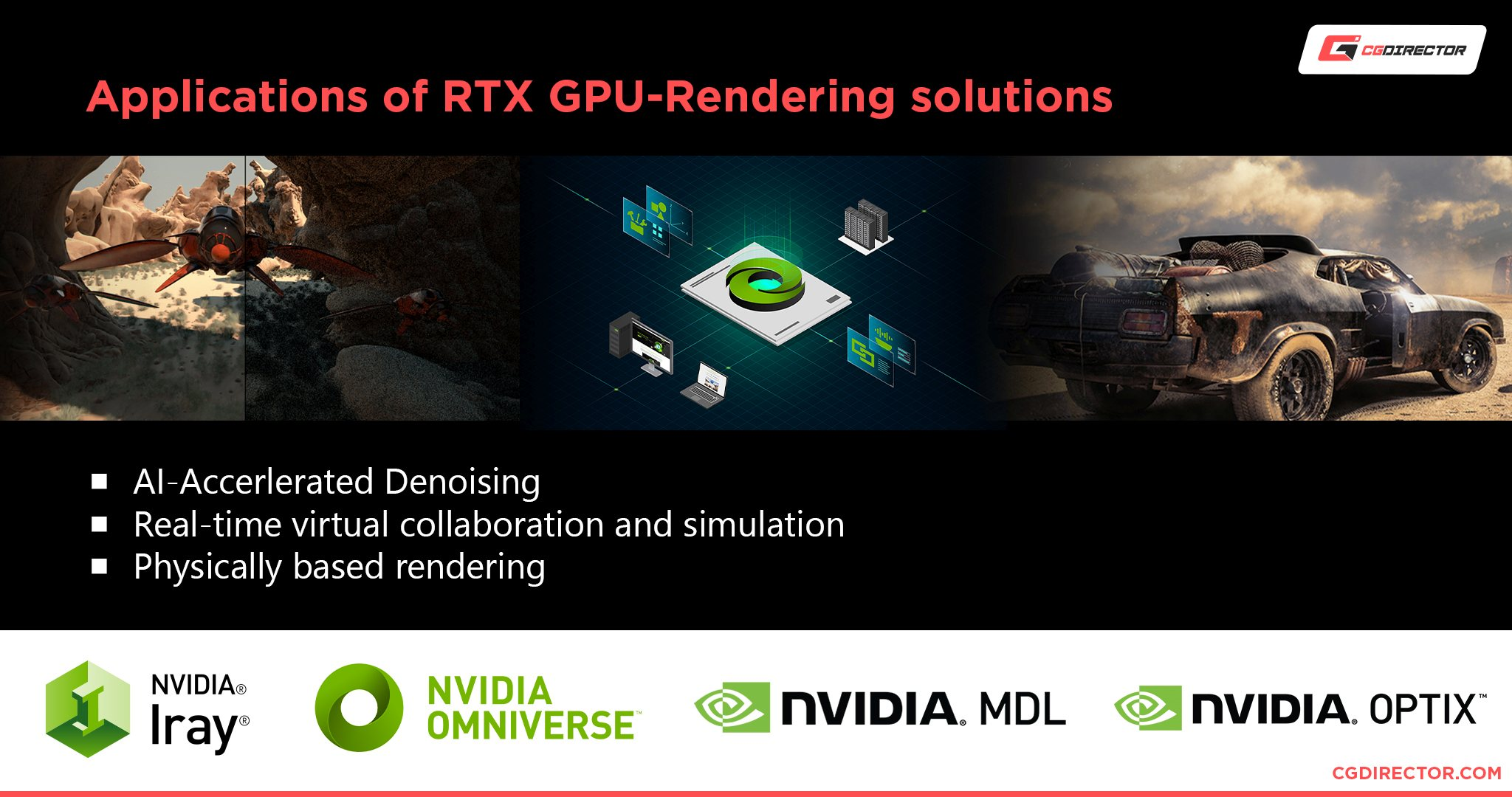 Nvidia-Developed RTX GPU-Rendering Solutions