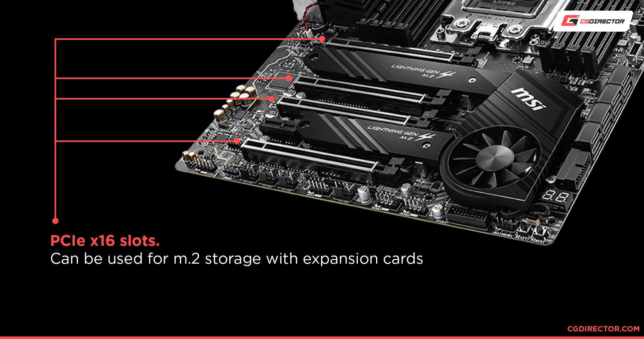 Take Advantage of Unused PCIe Slots
