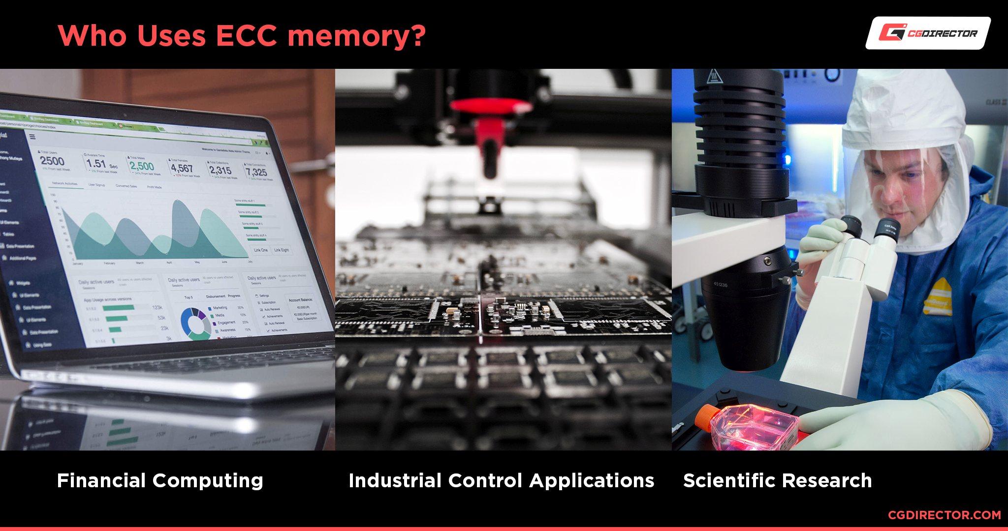 Who uses ECC memory