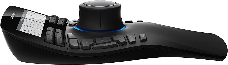 3Dconnexion Spacemouse Pro 3D Enterprise Mouse - Side View