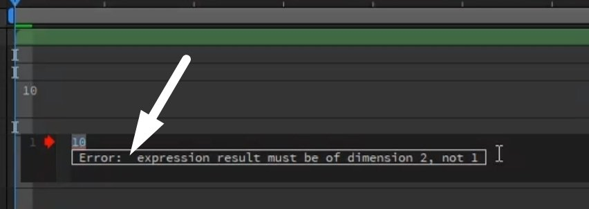 After Effects Expression Error