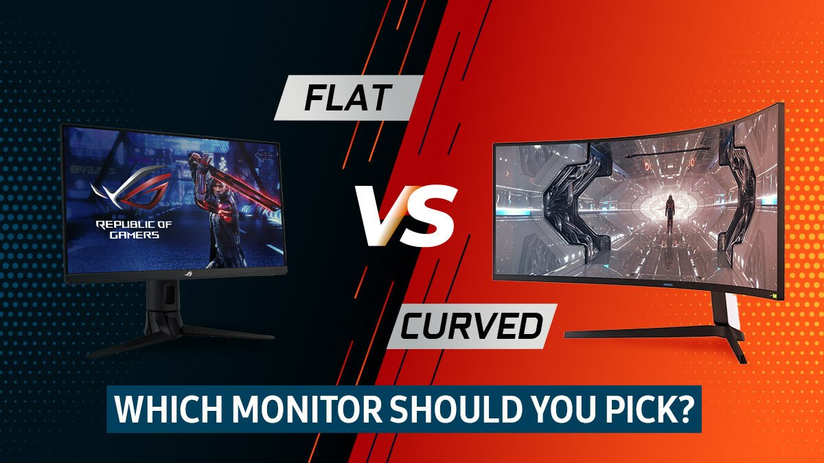 Curved vs Flat Monitors – Which Should You Pick?