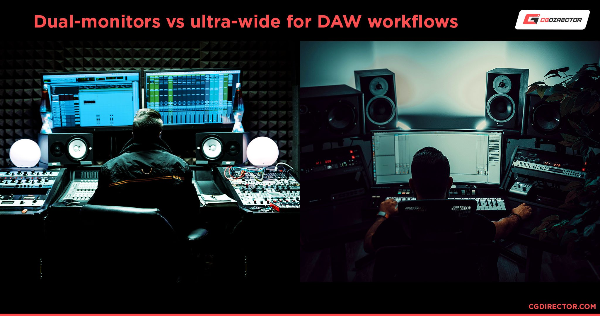 Dual-monitors vs ultra-wide for DAW workflows
