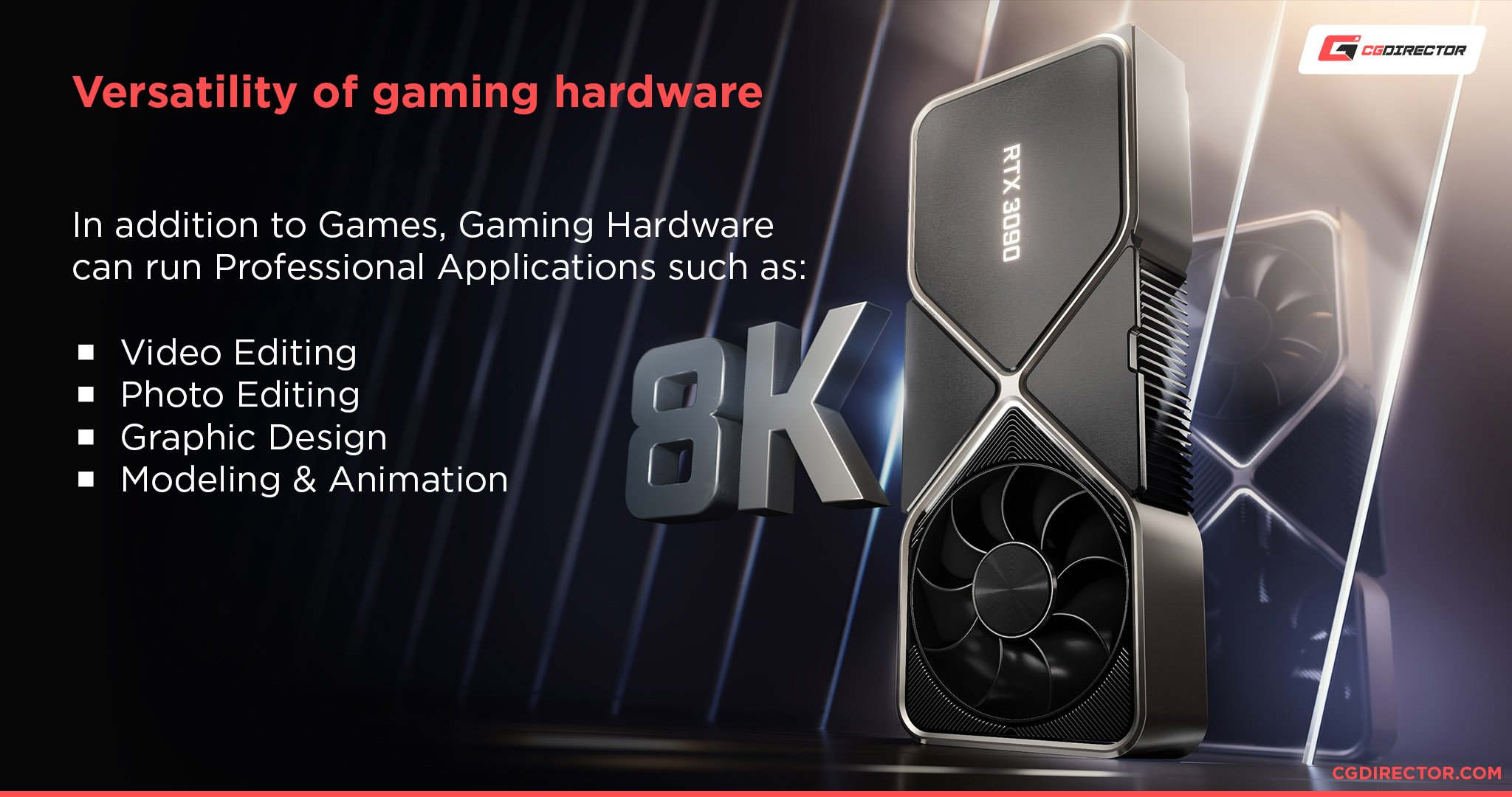 Gaming Hardware can be used for Professional Workloads as well